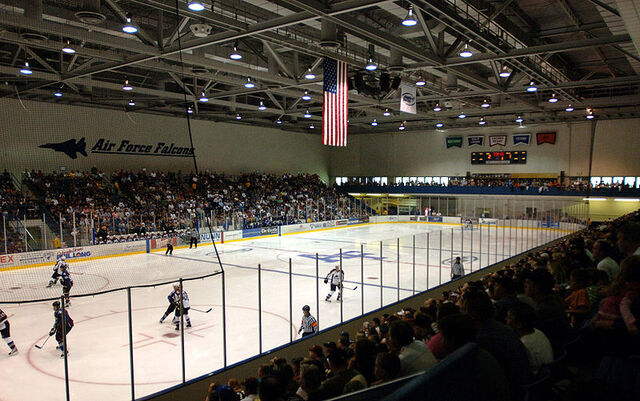 File:Cadet Field House Ice Arena USAFA Colorado Springs.jpg