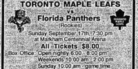 1995–96 Florida Panthers season