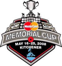 2008 MasterCard Memorial Cup logo
