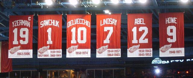 File:Red Wings retired Banners.jpg