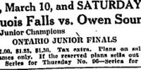 1926-27 Eastern Canada Memorial Cup Playoffs