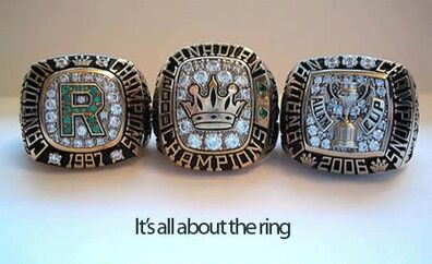 Powell River Allan Cup rings