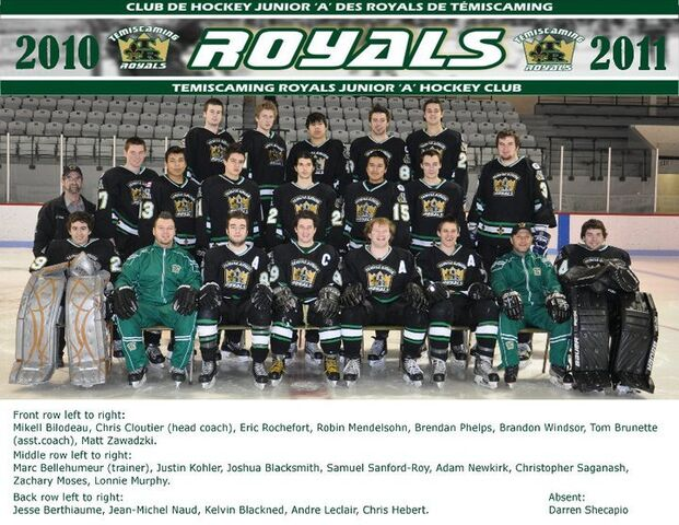 File:2010-11 Temiscaming Royals.jpg