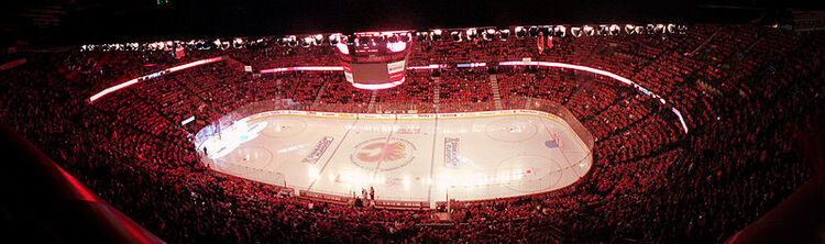 Saddledome Panorama