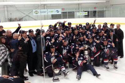 2015 QJHL champions