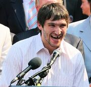 Ovechkin key to city ceremony