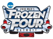 2010 Men's Frozen Four logo