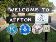 Affton, Missouri Welcome Sign