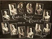 1909-10 Canadiens Team Picture