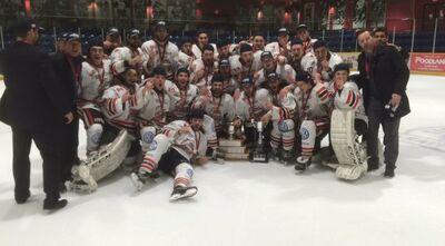 2016 NOJHL champs Soo Thunderbirds