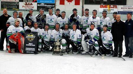 South East Prairie Thunder 2016 Manitoba Senior AAA champions