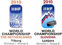 2010 IIHF World Championship Division I Logo