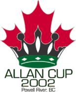 2002 Allan Cup Logo