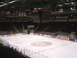 Inside Agganis Arena