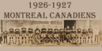 1926–27 Montreal Canadiens season
