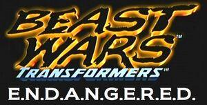Beast Wars Transformers E.N.D.A.N.G.E.R.E.D. title