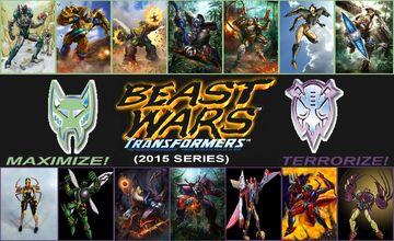 BEAST WARS - TRANSFORMERS - 2015 SERIES -