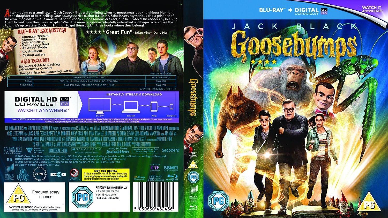 Image - Goosebumps Blu Ray Cover UK.jpg | Idea Wiki