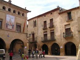 plaça de l'Ajuntament d'Horta de Sant Joan