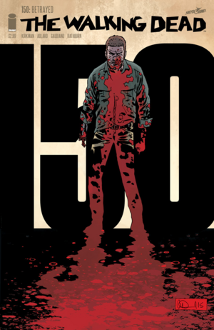 Cover for The Walking Dead #150 (2016)