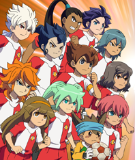 Inazuma Eleven Changing Room
