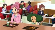 Konoha and Sakura talking