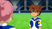 Tenma asking Sakura if she feels painful EP06