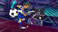 Gandales kicking Matatagi's ball away EP37 HQ