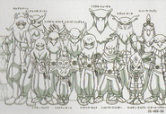 Gurdon Eleven height chart in Galaxy Databook