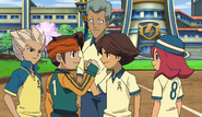 Endou and Ichinose glad to meet each other again 126HQ