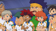 Second team surprised that Tenma stopped it GO 1 HQ