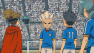 Gouenji after getting encouraged IE 84 HQ