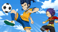 Tsurugi intercepting the ball CS 29 HQ