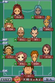 Osaka Gals formation