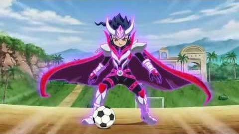 Inazuma Eleven GO Chrono Stone - Tsurugi Kyousuke Keshin ArmedイナズマイレブンでGO!