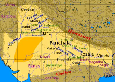 File:Map of Vedic India.png