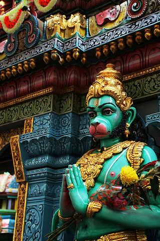 File:Singapore - हनुमत् Hanuman.jpg