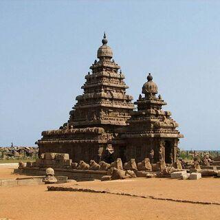Mamallapuram Shore Temple - 2007-at Mahabalipuram-UNESCO World Heritage Site.