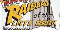 Massachusetts Brown: Raiders of the Late Book