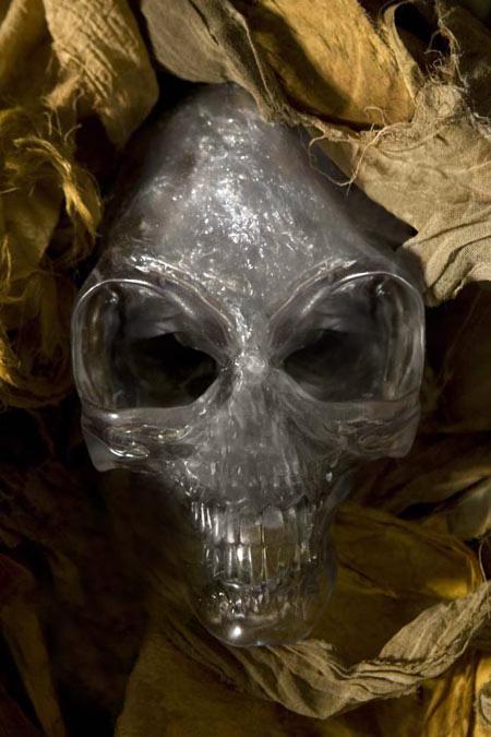 Crystal Skull Jones Crystal Skull of Akator