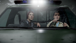 Delsin and Reggie on their way to Seattle