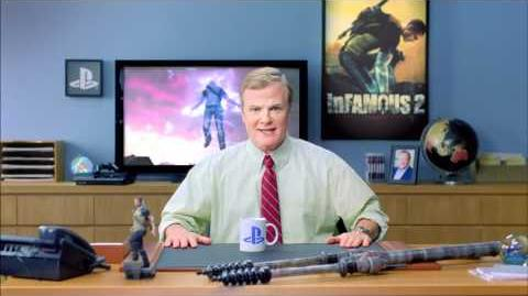 "Kevin Butler PS3 Commercial ""inFAMOUS 2"""