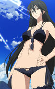 Chifuyu in swimsuit