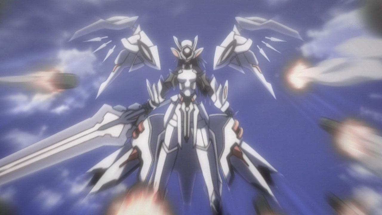 Infinite Stratos Tabane Chifuyu the White Knight