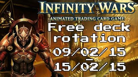 Infinity Wars - Free Deck Rotation - Episode 8