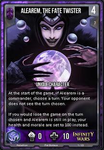 Alearem, the Fate Twister
