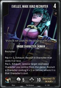 Evelee, Mage Guild Recruiter