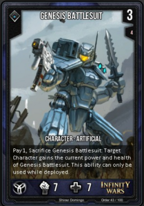 Genesis Battlesuit