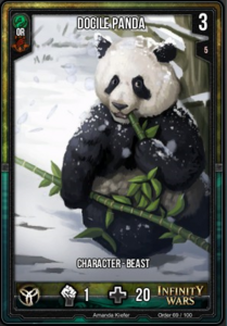 Docile Panda