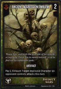 Ancient Aggression Emblem